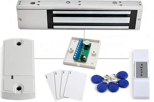 Магнитный замок вход по карточкам установка готового решения